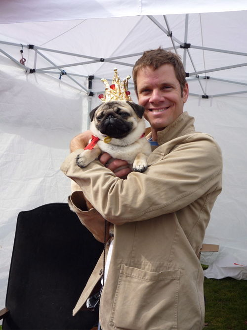 Justin and pug winner!!