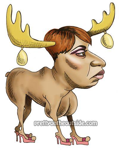 NeNe is a moose