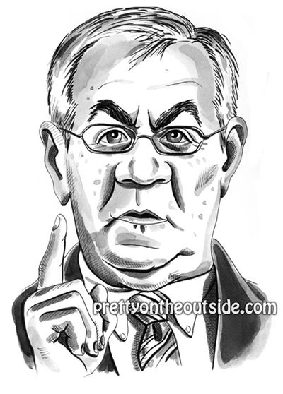 Barney Frank black and white