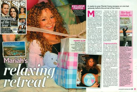 Mariah Carey baby moon