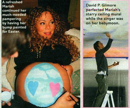 Mariah Carey baby moon 2