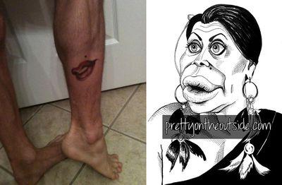 Big Ang tattoo 2