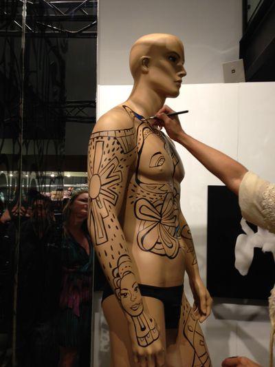 La mannequin