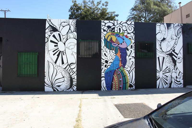 David Gilmore mural