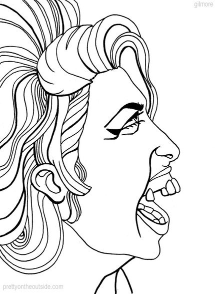 Pretty On The Outside Trippy And Toothy Amy Winehouse